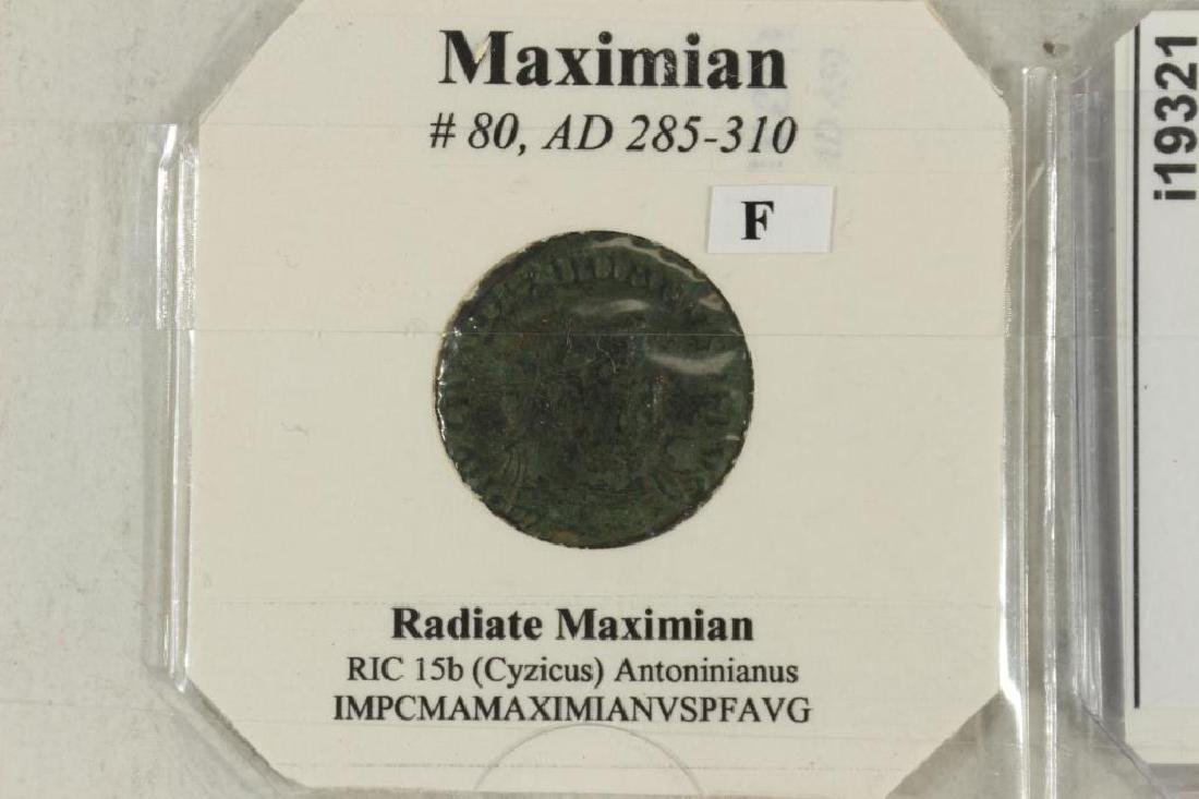 285-310 A.D. MAXIMIAN ANCIENT COIN (FINE) - 2