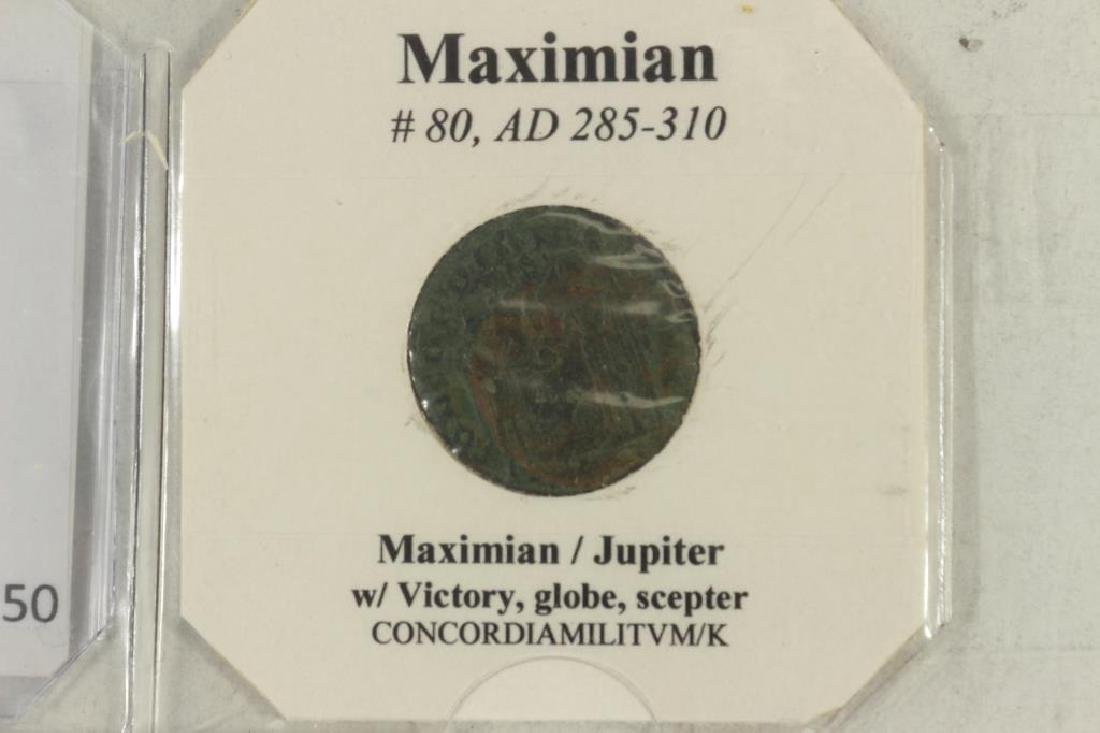 285-310 A.D. MAXIMIAN ANCIENT COIN (FINE) - 3