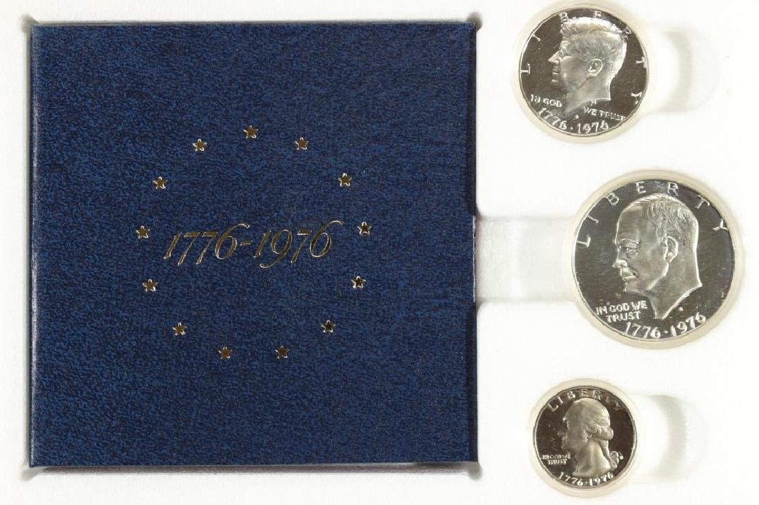 1976-S US SILVER BICENTENNIAL PROOF SET