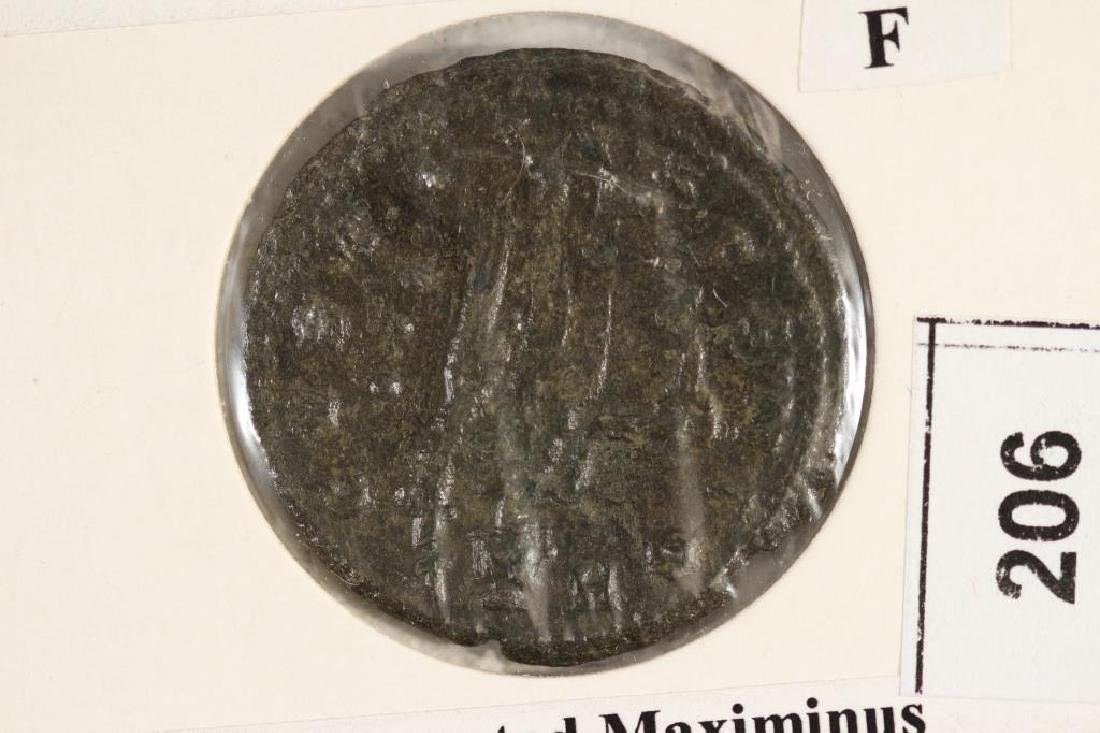 308-313 A.D. MAXIMINUS II ANCIENT COIN (FINE)