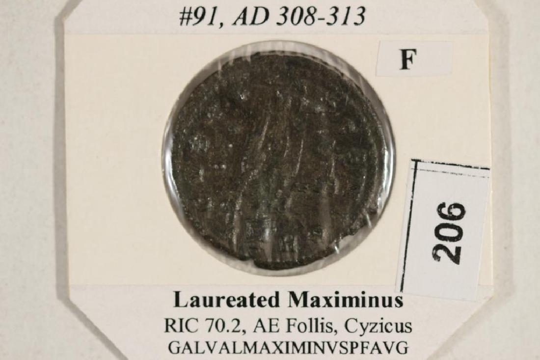 308-313 A.D. MAXIMINUS II ANCIENT COIN (FINE) - 3