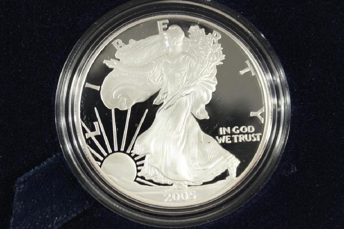 2005-W PROOF AMERICAN SILVER EAGLE