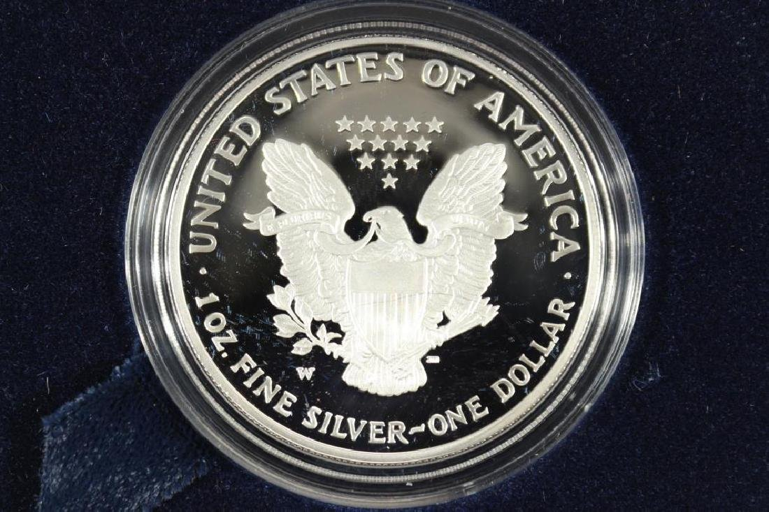 2005-W PROOF AMERICAN SILVER EAGLE - 2
