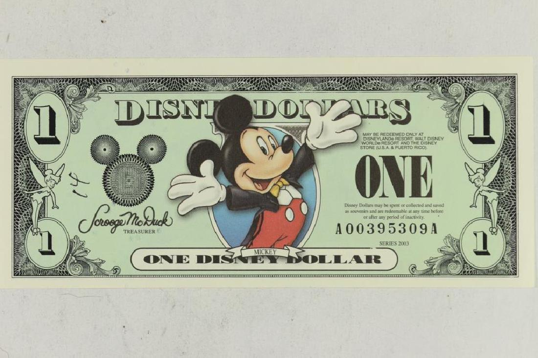 "SERIES 2003 DISNEY DOLLAR ""MICKEY"" CRISP UNC"