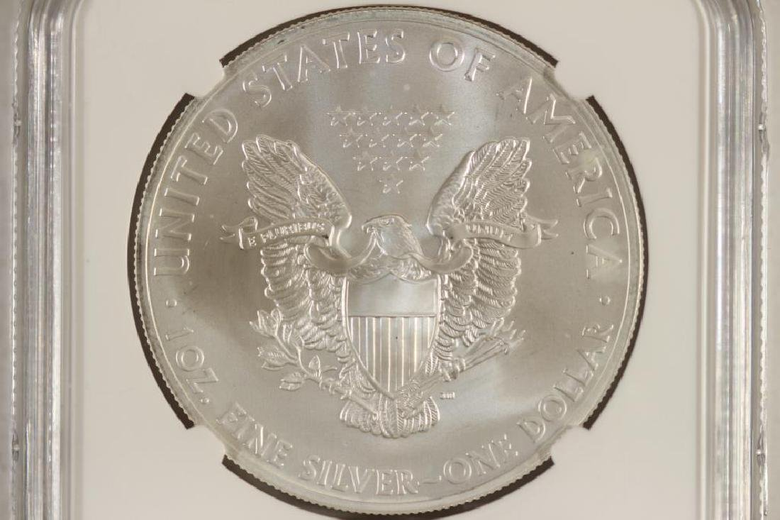 2014 (S) AMERICAN SILVER EAGLE NGC MS69 - 2
