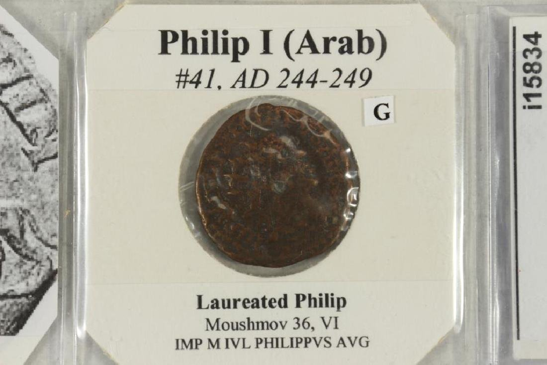 244-249 A.D. PHILIP I (ARAB) ANCIENT COIN - 2