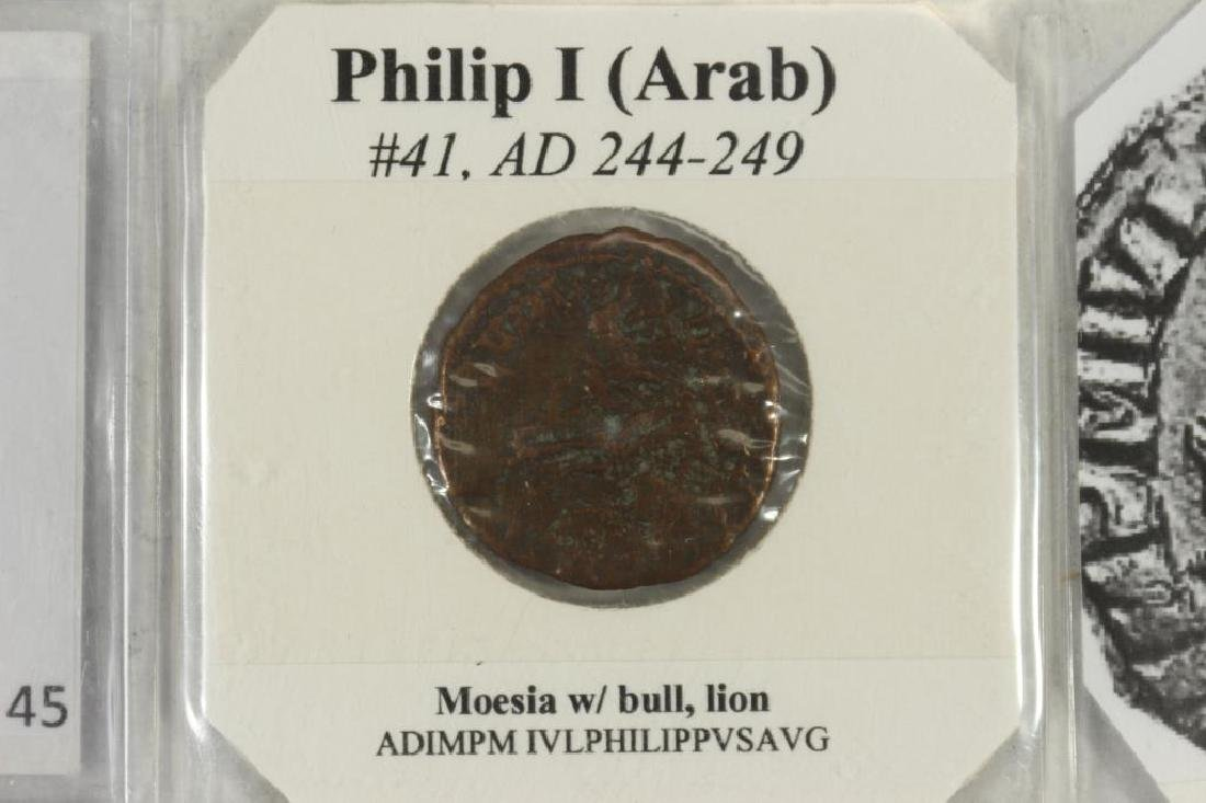 244-249 A.D. PHILIP I (ARAB) ANCIENT COIN - 3