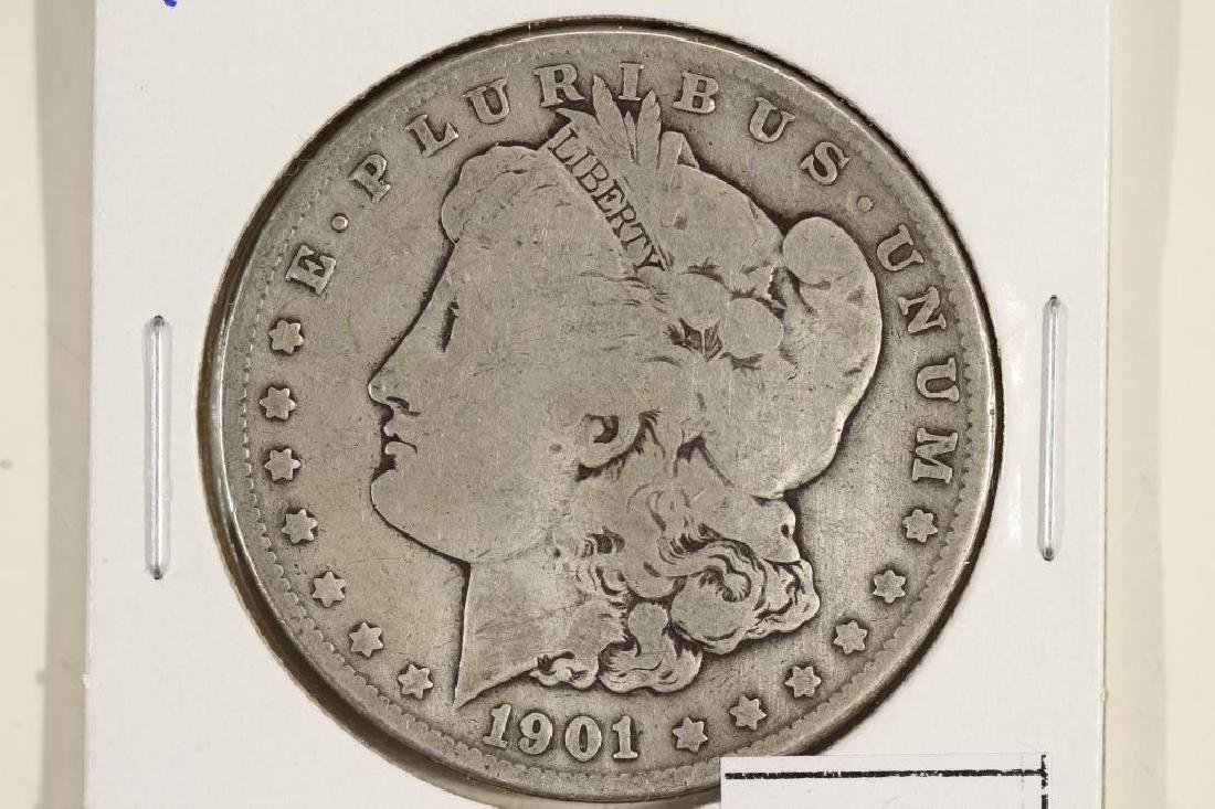 1901-O MORGAN SILVER DOLLAR