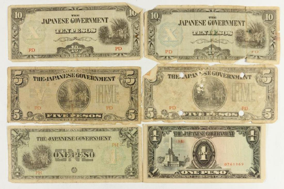 JAPANESE INVASION CURRENCY 2-1 PESO, 2-5 PESO &
