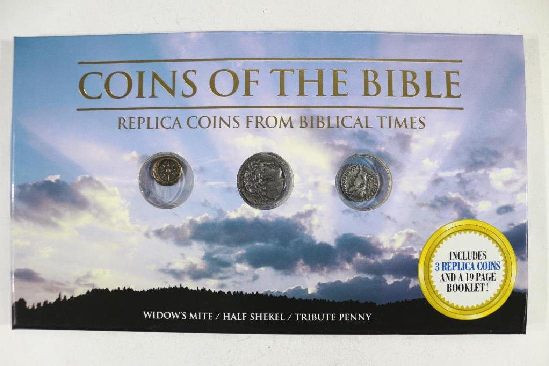 COINS OF THE BIBLE REPLICA COIN SET
