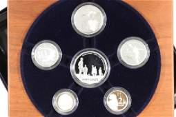 AUSTRALIAN FINE SILVER PROOF 2005 YEAR SET