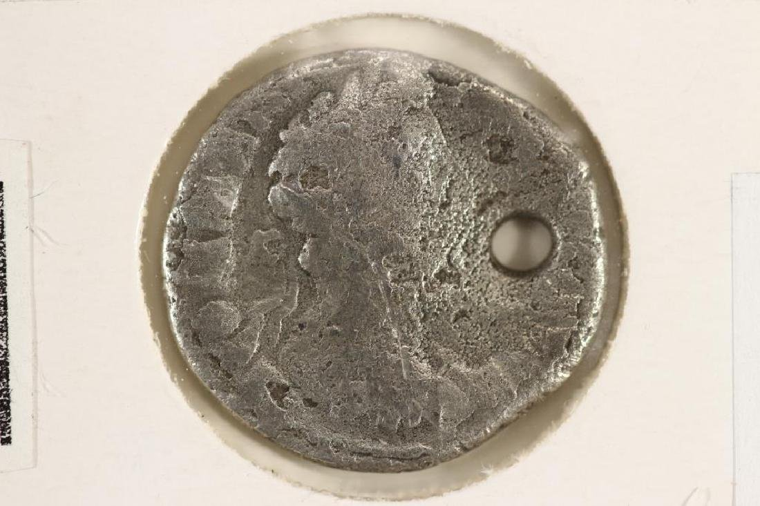SILVER 177-192 A.D. COMMODUS ANCIENT COIN HOLED