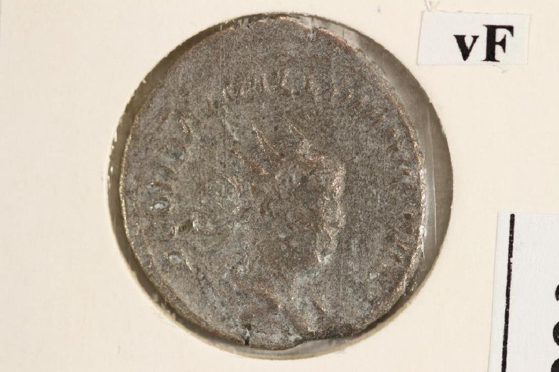 SILVER 268 A.D. SALONINUS ANCIENT COIN VERY FINE