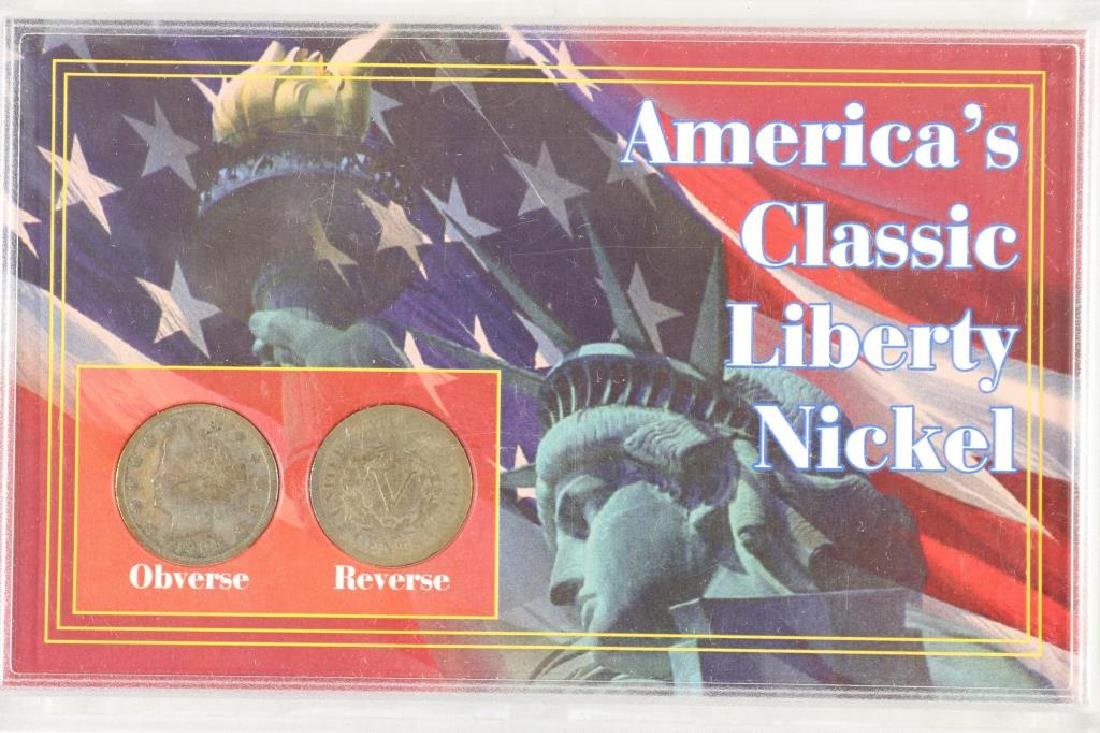 AMERICAS CLASSIC LIBERTY NICKEL SET AS SHOWN