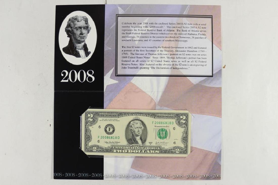 2008 ATLANTA $2 SINGLE NOTE 2003-A $2 FRN