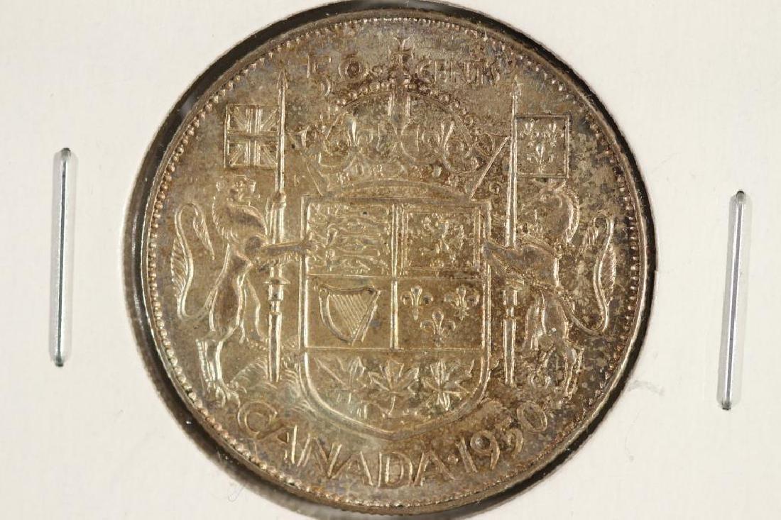 1950 CANADA SILVER 50 CENT