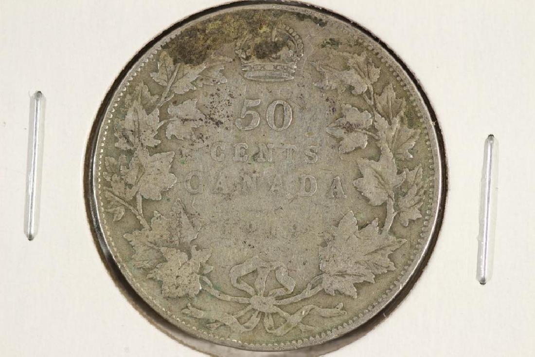 1919 CANADA SILVER 50 CENT
