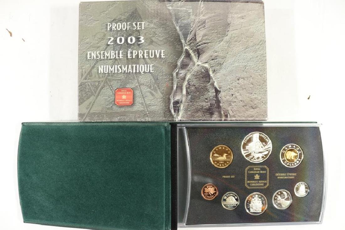 2003 CANADA PROOF SET ALL STERLING SILVER