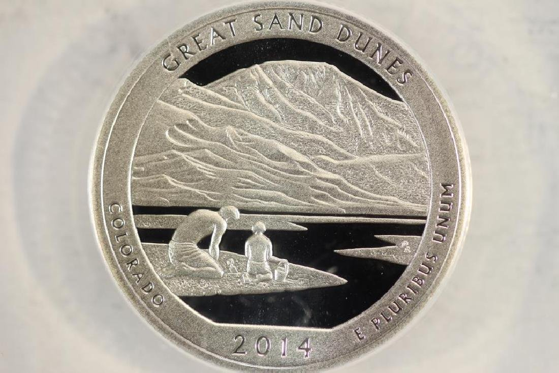 2014-S GREAT SAND DUNES N.P. SILVER QUARTER