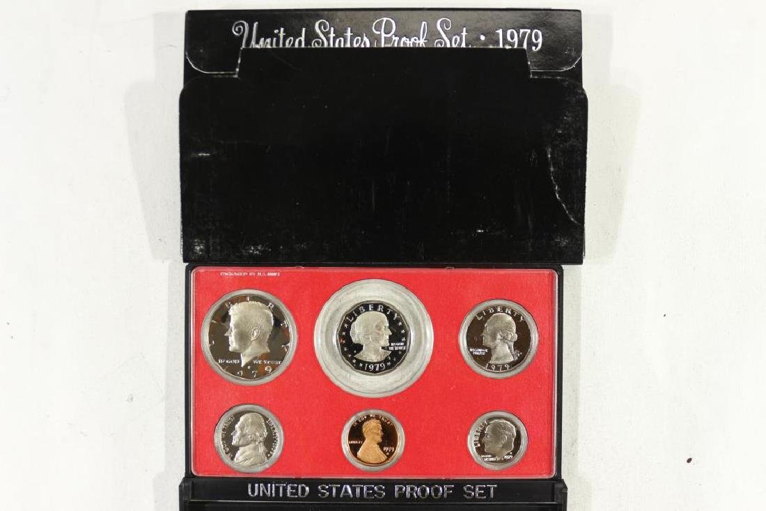 1979 TYPE 2 US PROOF SET (WITH BOX) RETAIL $55.00