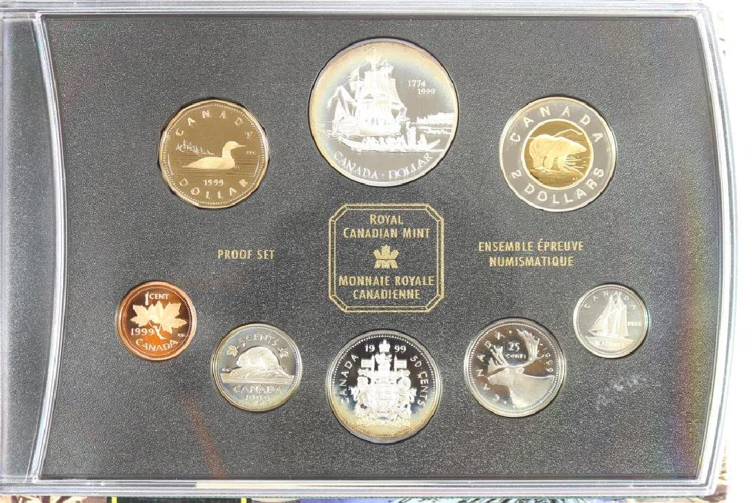 1999 CANADA SILVER PROOF SET 225TH ANNIVERSARY