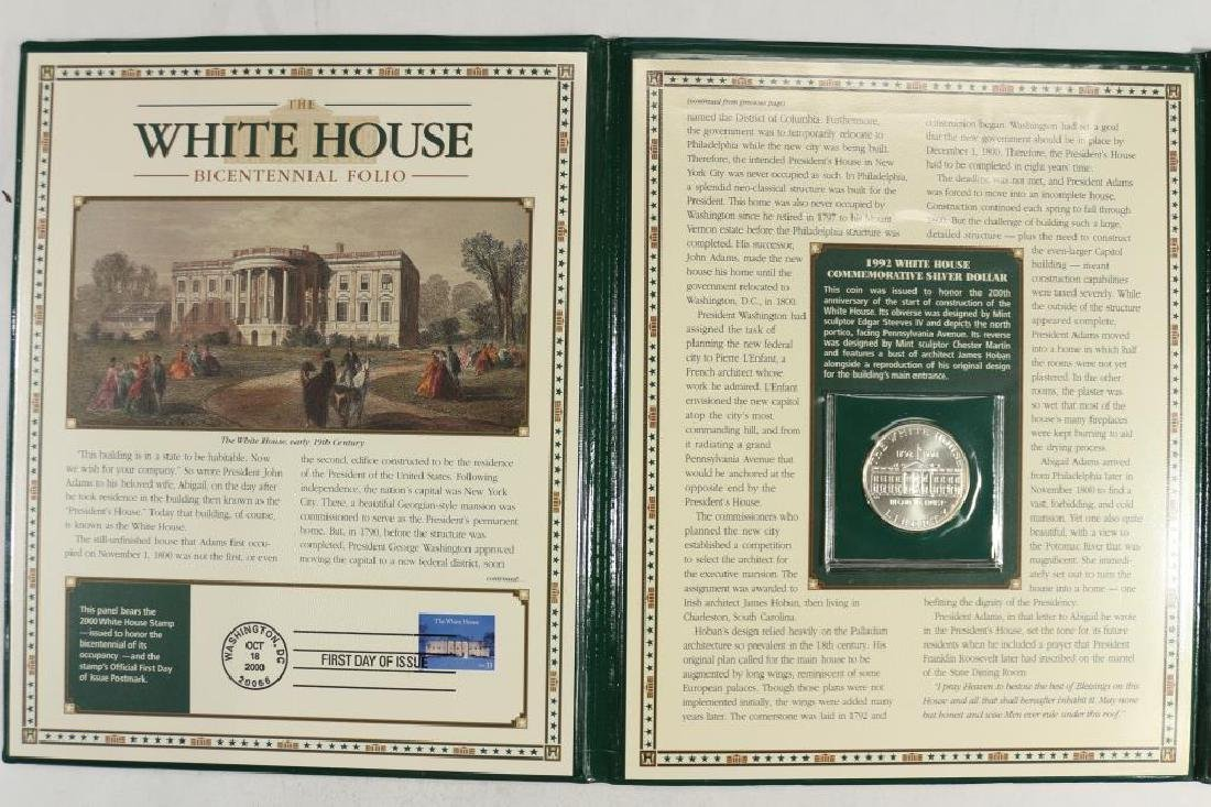 THE WHITE HOUSE BICENTENNIAL FOLIO INCLUDES