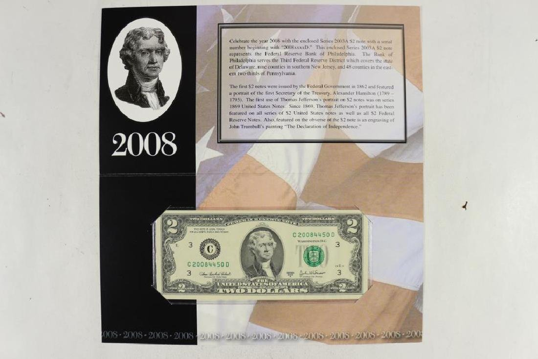 2008 PHILADELPHIA $2 SINGLE NOTE 2003 -A $2 FRN