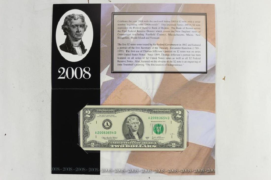2008 BOSTON $2 SINGLE NOTE 2003 -A  $2 FRN