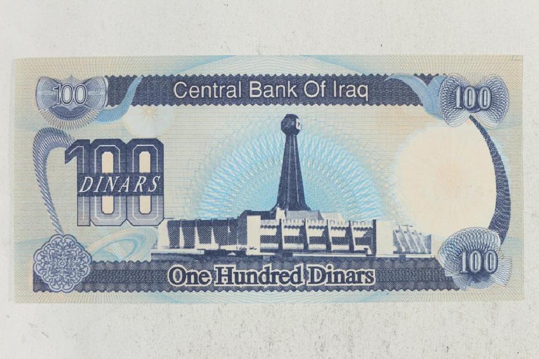 1994 IRAQ 100 DINARS CRISP UNC - 2