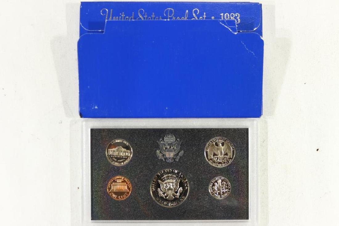 1983 US PROOF SET (WITH BOX) - 2