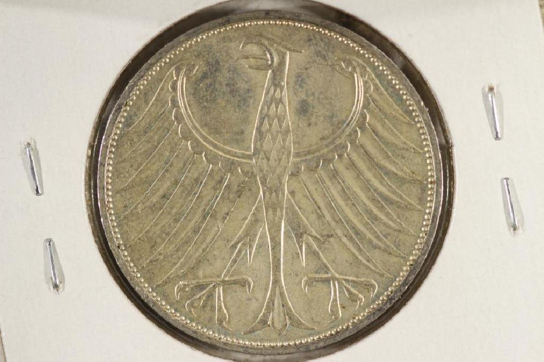 1973-J GERMANY SILVER 5 MARKS - 2