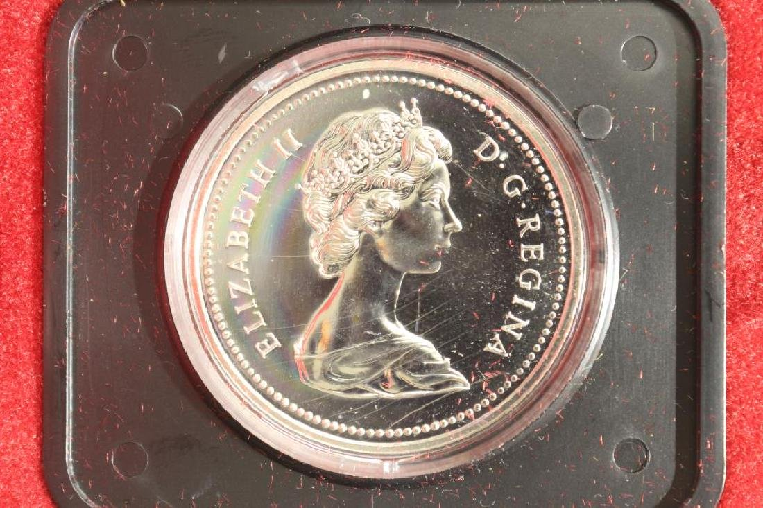 1975 CANADA CALGARY SILVER DOLLAR PROOF - 2