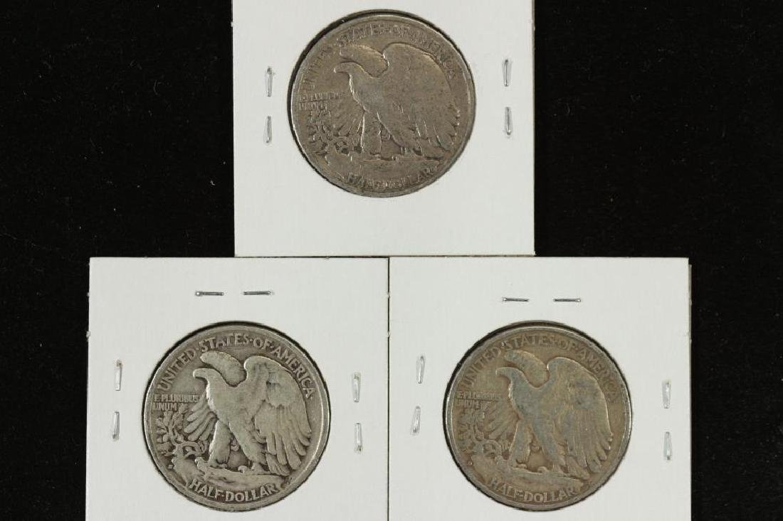 1936,37-S & 39-D WALKING LIBERTY HALF DOLLARS - 2