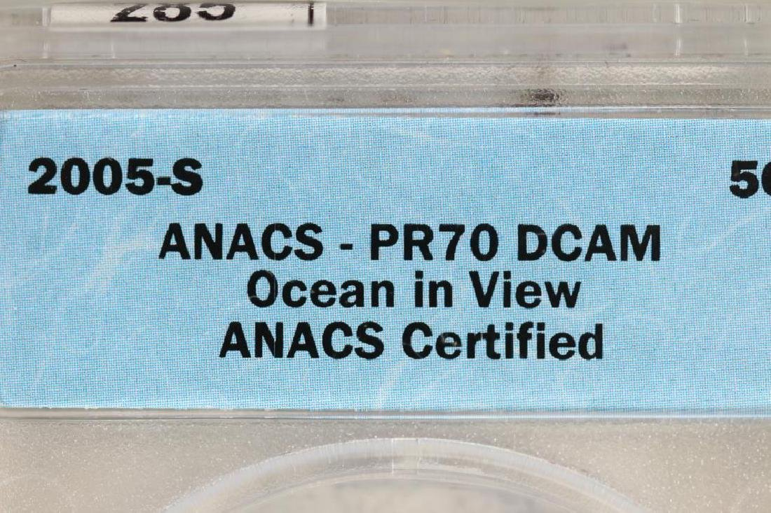 2005-S OCEAN IN VIEW NICKEL ANACS PR70 DCAM - 3