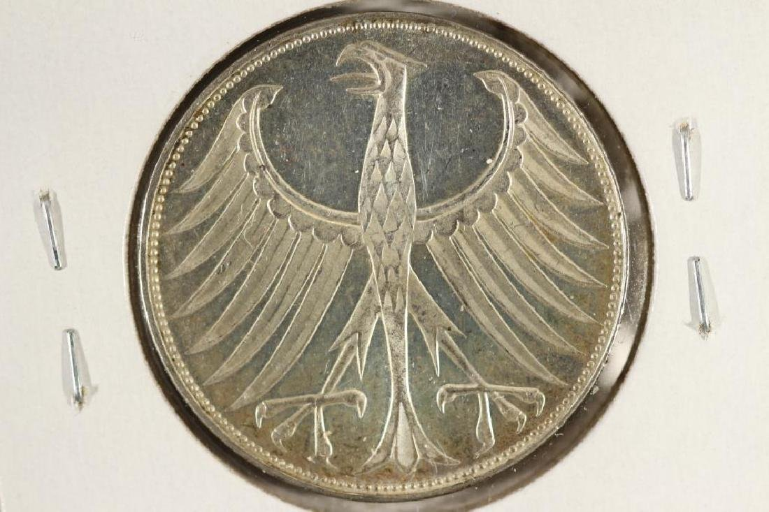 1971-G GERMANY SILVER 5 MARKS
