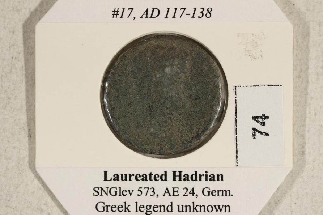 117-138 A.D. HADRIAN ANCIENT COIN - 3