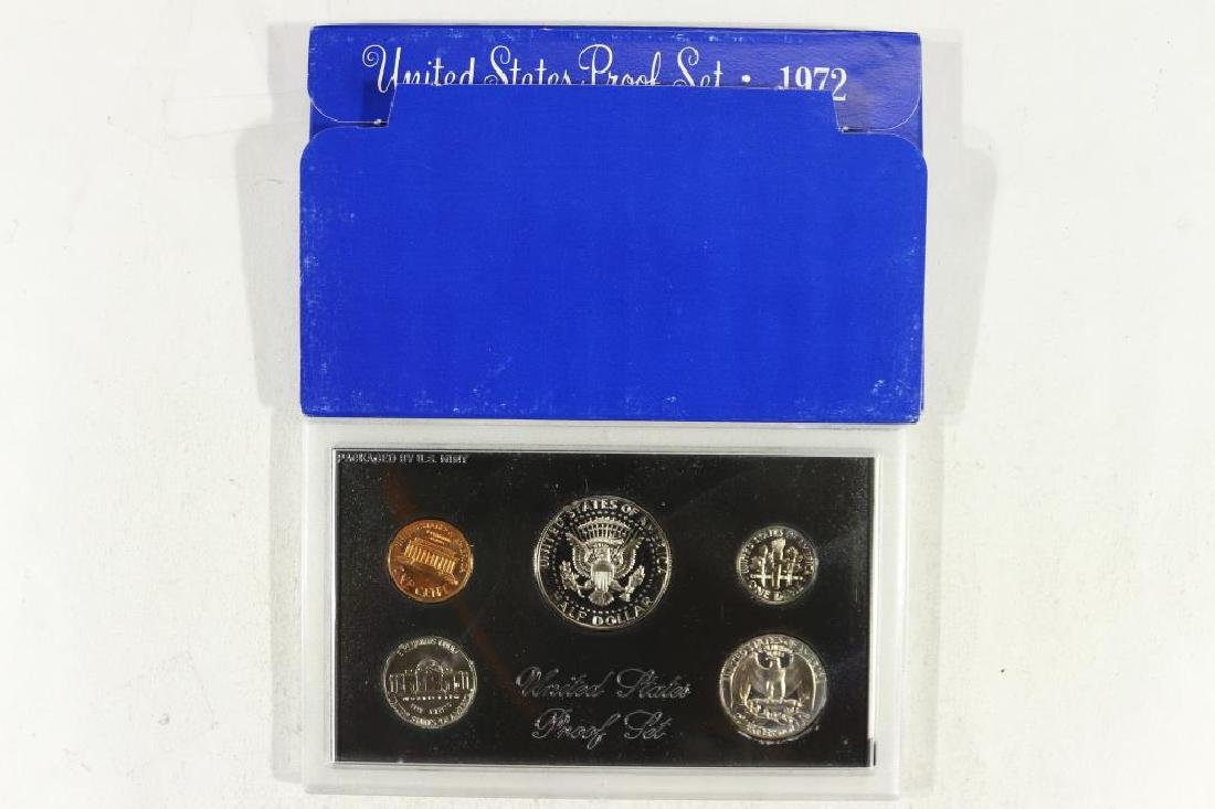 1972 US PROOF SET (WITH BOX) - 2