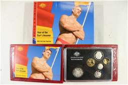 2007 AUSTRALIA 6 COIN PROOF SET YEAR OF THE