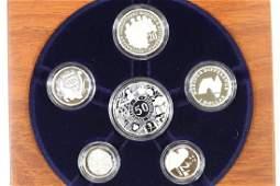 2003 AUSTRALIA FINE SILVER PROOF YEAR SET
