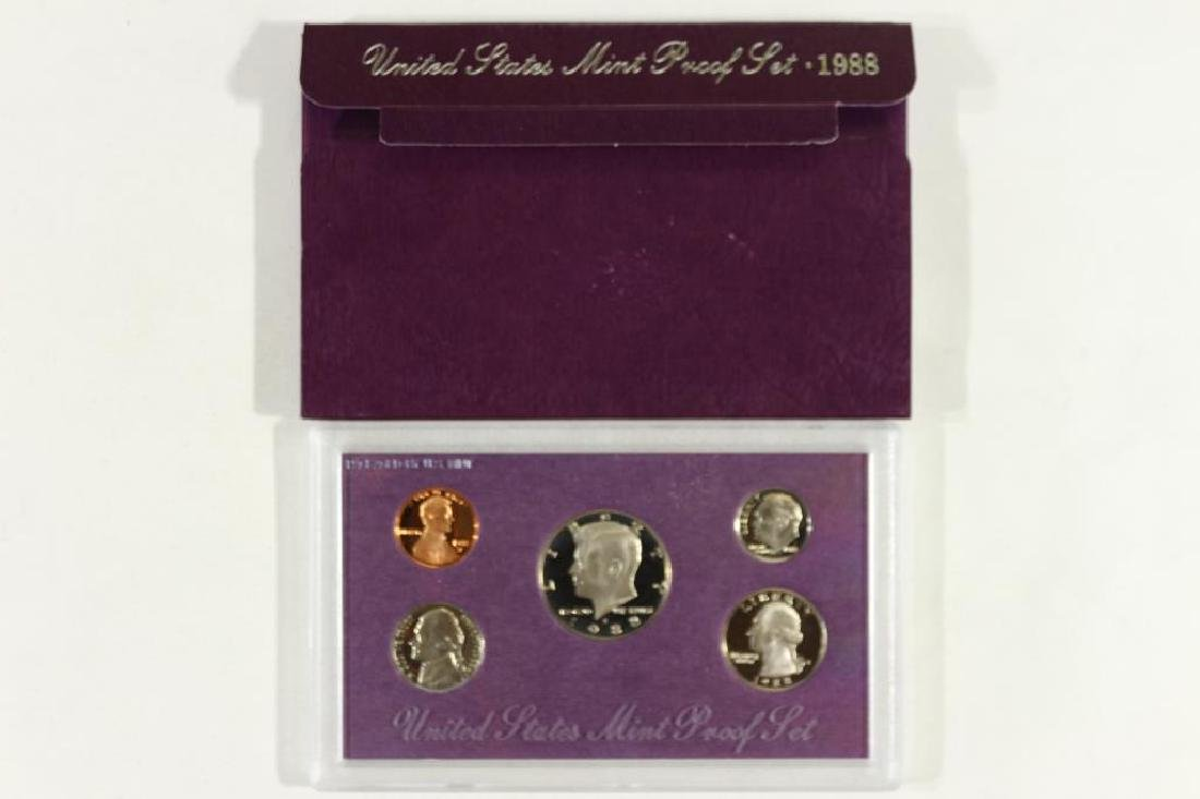 1988 US PROOF SET (WITH BOX)