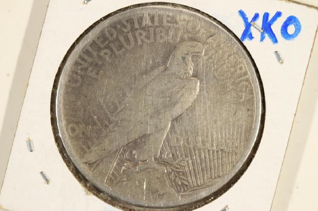 1921-P PEACE SILVER DOLLAR KEY DATE - 2