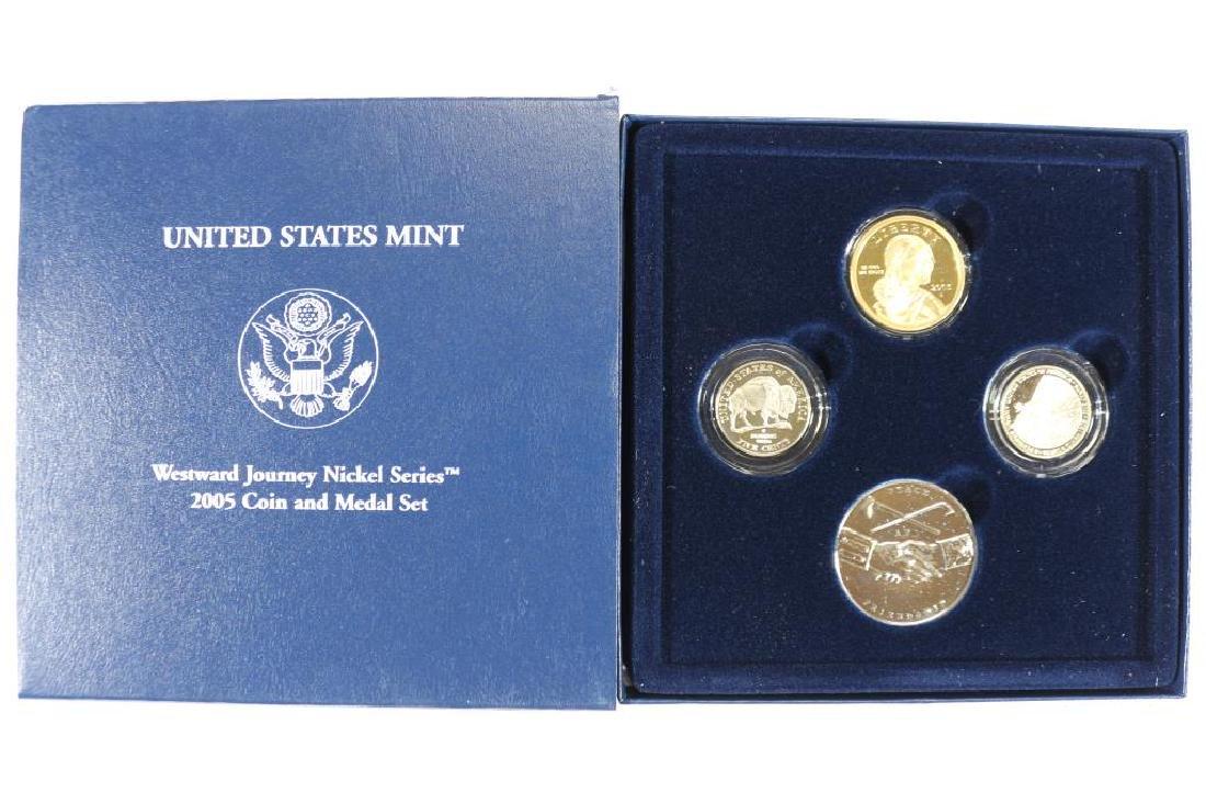 2005 WESTWARD JOURNEY NICKEL SERIES COIN & MEDAL