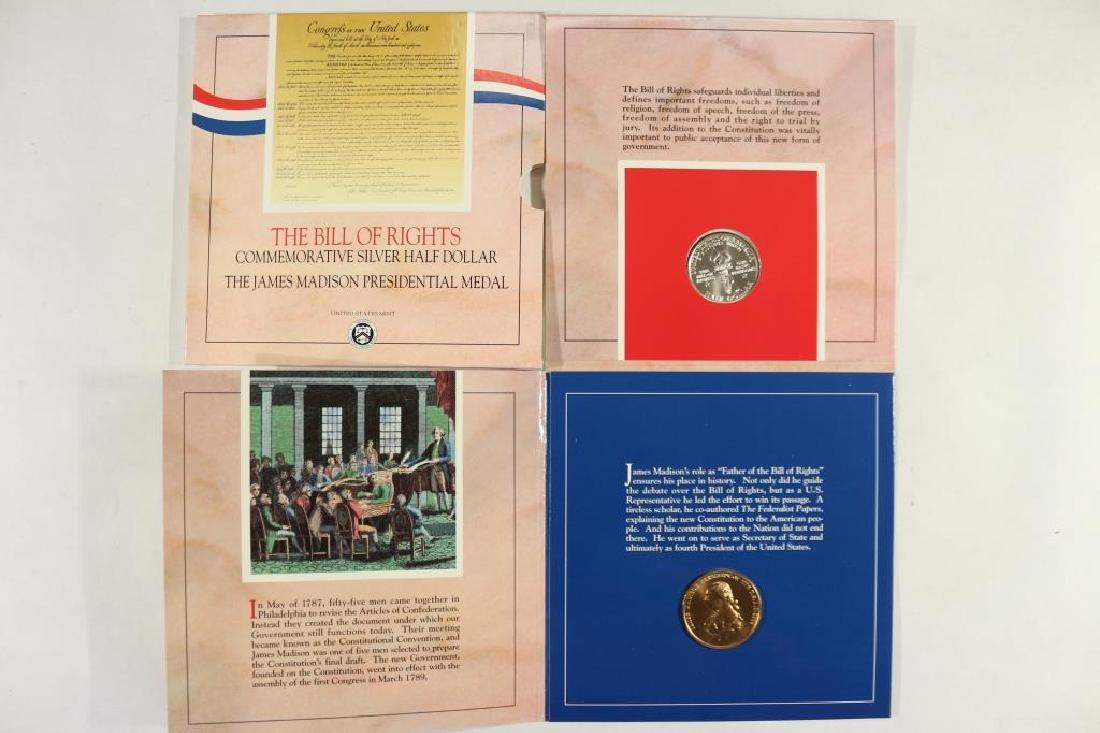 1993-W BILL OF RIGHTS COMMEMORATIVE SILVER