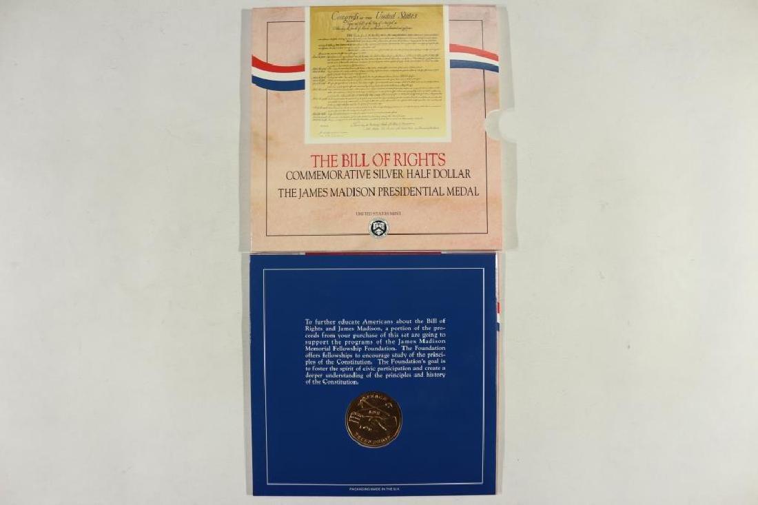 1993-W BILL OF RIGHTS COMMEMORATIVE SILVER - 3