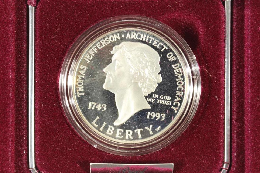 1995-S THOMAS JEFFERSON 250TH ANNIVERSARY PROOF