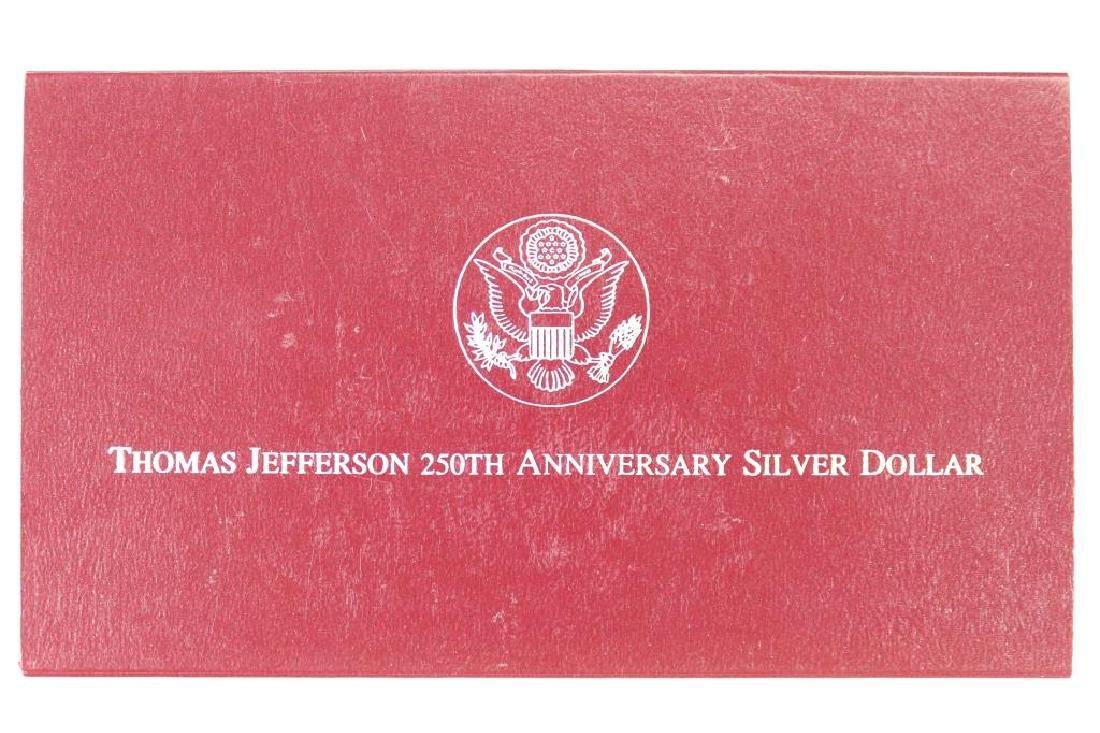 1995-S THOMAS JEFFERSON 250TH ANNIVERSARY PROOF - 3
