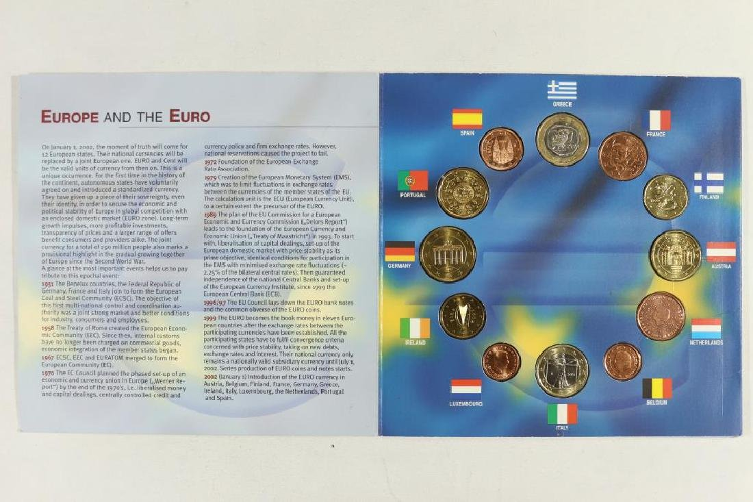THE UNITED STATES OF EUROPE-THE 1ST COINS OF THE