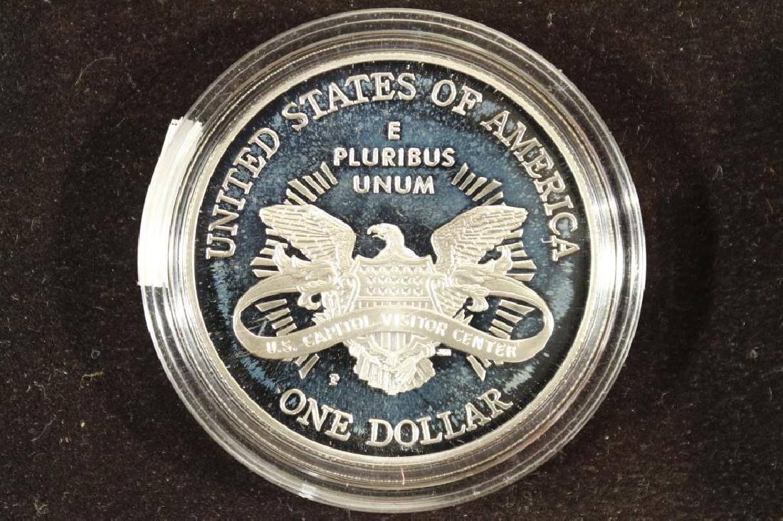 2001-P US CAPITOL PROOF SILVER DOLLAR - 2