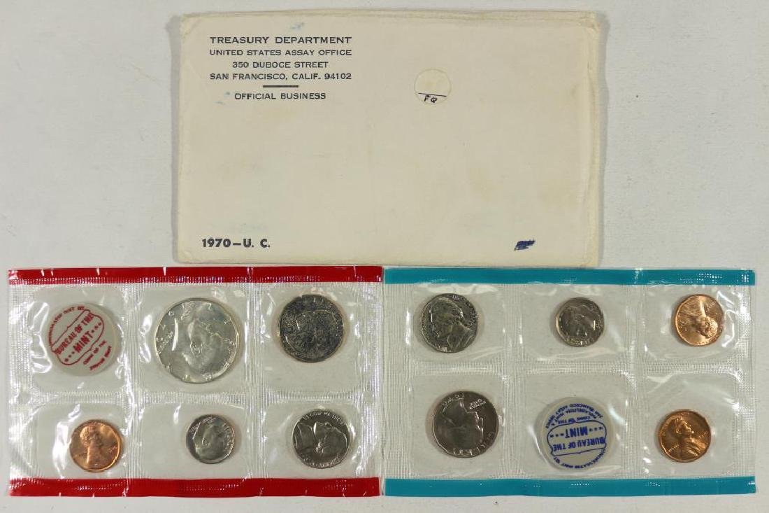 1970 US MINT SET (UNC) P/D/S (WITH ENVELOPE)