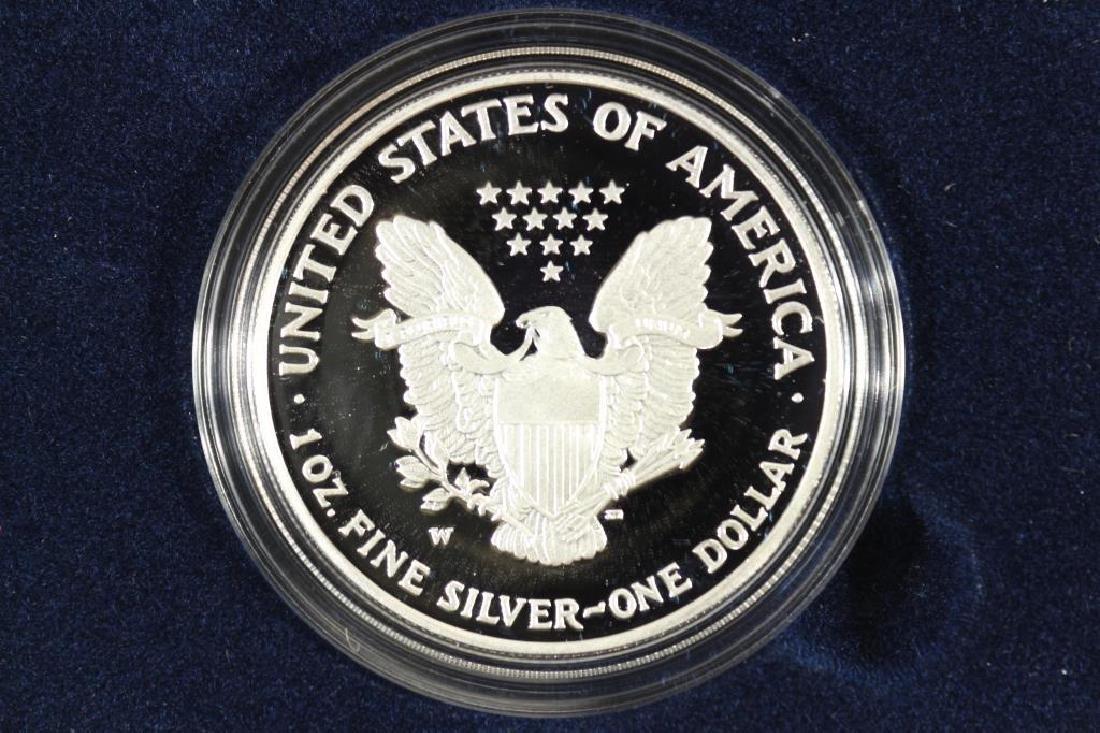 2007-W PROOF AMERICAN SILVER EAGLE - 2